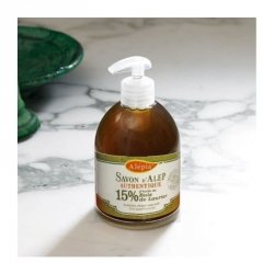 Liquid Soap 15% Laurel Oil, 100% Natural, Alepia, 500ml