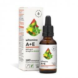 Witamina A + E, Krople, Aura Herbals, 30ml