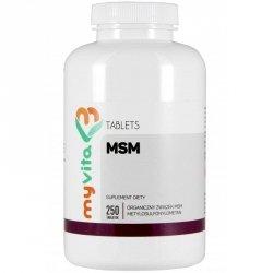 MSM Metylosulfonylometan Tabletki, Siarka MyVita