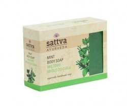 Mint Natural Glycerine Soap Sattva, 125g