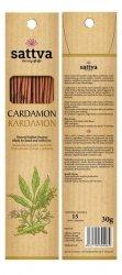 Cardamon Natural Incense Sticks, Sattva, 30g