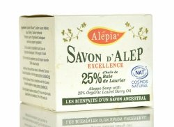 Alep Soap Excellence 25% Laurie BIO, 190gr