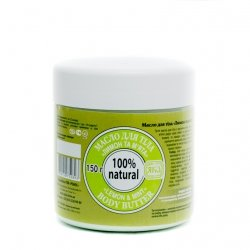 Body Butter Lemon and Mint, 100% Natural