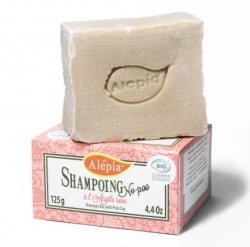 Pink Clay Shampoo Bar, Alepia, 125g