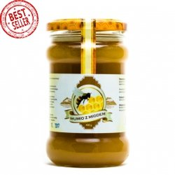 Mumio (Mumijo) with Honey, 100% Natural, 400 g