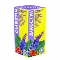 Diabetin Herbal Drops, Ekomed Phyto Concentrate