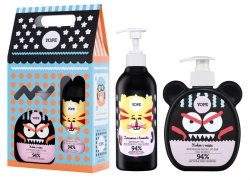 Coconut Soap & Cranberry Gel Gift Set for Kids, Yope