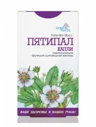 White Cinquefoil Herbal Drops (Potentilla alba L.) 50ml