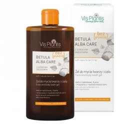 Face and Body Wash Gel with Birch Tar, Betula Alba Care