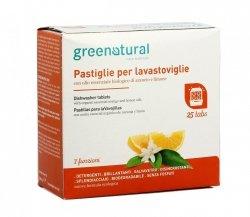 Tabletki do Zmywarek Pomarańcza i Cytryna Greenatural, 25 sztuk