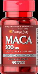 Maca 500 mg, Puritan's Pride, 60 kapsułek