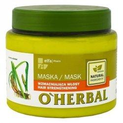 O'Herbal Maska do Wzmocnienia Włosów z Ekstraktem z Korzenia Tataraku, 500ml