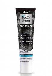 Krem do Golenia z Aktywnym Węglem BLACK CLEAN FOR MEN