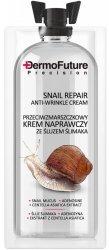Przeciwzmarszczkowy Krem Naprawczy ze Śluzem Ślimaka, Dermofuture, 12ml