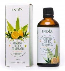 Olejek do Masażu Cytrusowy India Cosmetics, 100ml