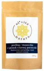 Peeling / Maseczka z Pestek Czarnej Porzeczki, Olvita