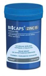BICAPS ZINC15, ForMeds, Cynk, 60 kapsułek