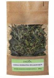 Lekka Ziołowa Herbata Relaksująca, 50 g India Cosmetics