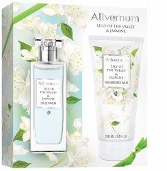Zestaw Prezentowy Lily of The Valley & Jasmine i Balsam Perfumowany, Allvernum