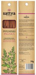 Kadzidełka Naturalne Patchouli, Paczula Sattva Incense, 30g