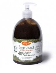 Mydło Alep w Płynie 40% Oleju Laurowego, 500ml