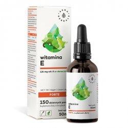 Witamina E Forte (200 IU) MCT-Oil, Krople, Aura Herbals, 50ml