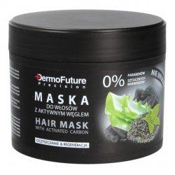 Maska do Włosów z Aktywnym Węglem Dermofuture, 300 g
