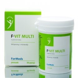 F-VIT MULTI Formeds, Witaminy i Minerały, Suplement Diety