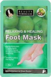 Maska na Stopy Relaksująco-Odżywcza 1 para, Beauty Formulas