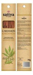 Kadzidełka Naturalne Kardamon, Cardamon Sattva Incense, 30g
