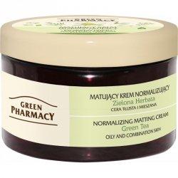 Matujący Krem Normalizujący Zielona Herbata, Green Pharmacy