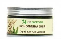 Peeling Detox do Ciała z Olejem Konopnym, Dr.Biokord, 250ml