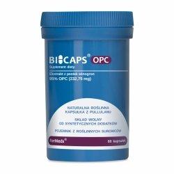 BICAPS OPC, Ekstrakt z Pestek Winogron, Formeds, 60 kapsułek