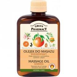 Olejek do Masażu Rozgrzewający Green Pharmacy