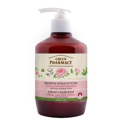 Mydło w Płynie Róża Piżmowa i Bawełna, Green Pharmacy