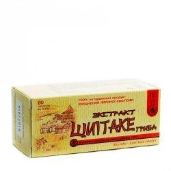 Wyciąg z Grzybów Shiitake (Lentinula Edodes), 80 tab.