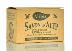 Mydło Alep 5% Oleju Laurowego, 190g