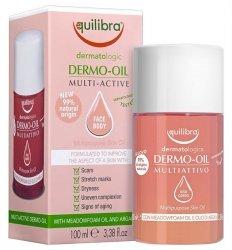 Olejek do Pielęgnacji Skóry Dermo Oil Multi-Active, Equilibra, 100ml