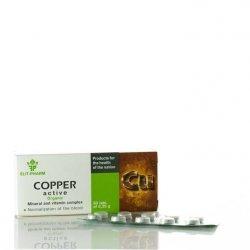 Miedź Aktywna Copper, 80 tab., Kompleks Witaminowo-Mineralny