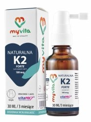 Myvita Witamina K2 w kroplach, 30 ml