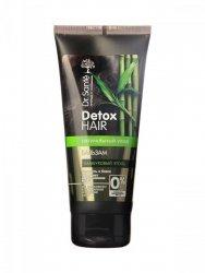 Odżywka do Włosów Elastyczność i Połysk Bambusowy Węgiel Dr.Sante Detox Hair