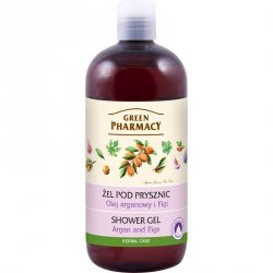 Гель для душа Аргановое масло и инжир, Зеленая аптека