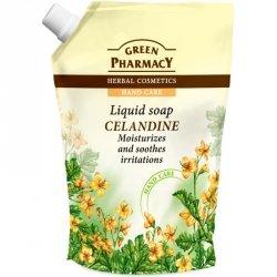 Жидкое мыло Чистотел Дой-пак, Зеленая аптека