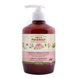 Жидкое мыло Мускусная роза и хлопок, Зеленая аптека