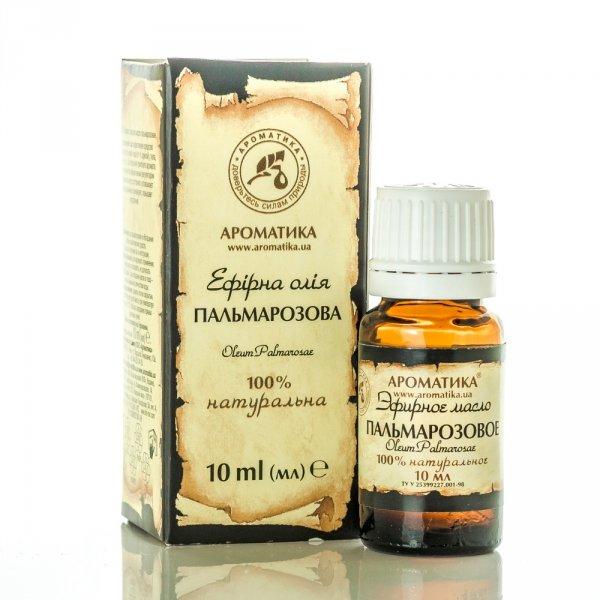 Palmarosa Essential Oil, Aromatika