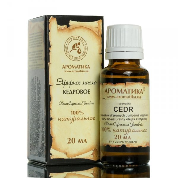 Cedarwood Essential Oil 100% Pure Natural