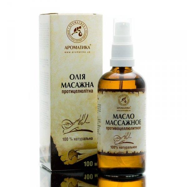 Anti-cellulite Massage Oil, 100% Natural