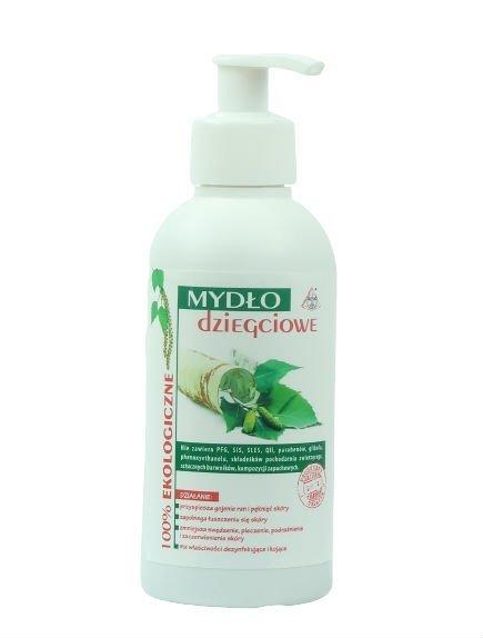 Mydło Dziegciowe w Płynie, 250 ml, 100% naturalne