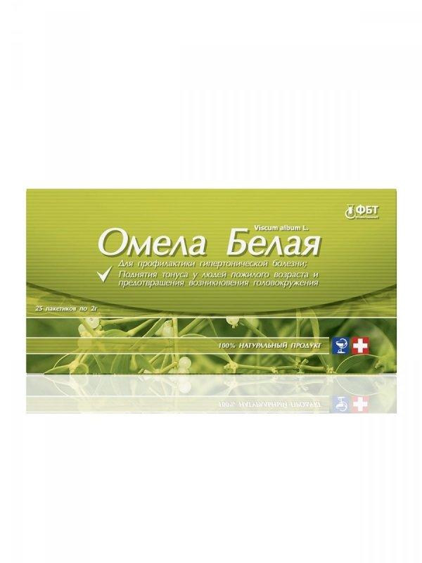Jemioła Białą Herbata Ziołowa 25 saszetek