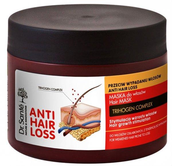 Maseczka Przeciw Wypadaniu Włosów Anti Hair Loss, Seria Dr. Sante